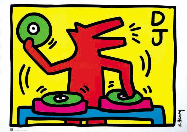 Keith Haring picture